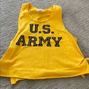 Pink VS yellow is army tank small